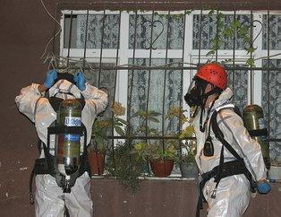 Gaz maskeleriyle eve girdiler! Sarıyer'de tüyler ürperten olay