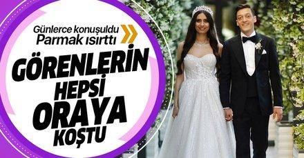 Mesut Özil ile Amine Gülşe'nin evi parmak ısırttı! Herkes oraya koştu