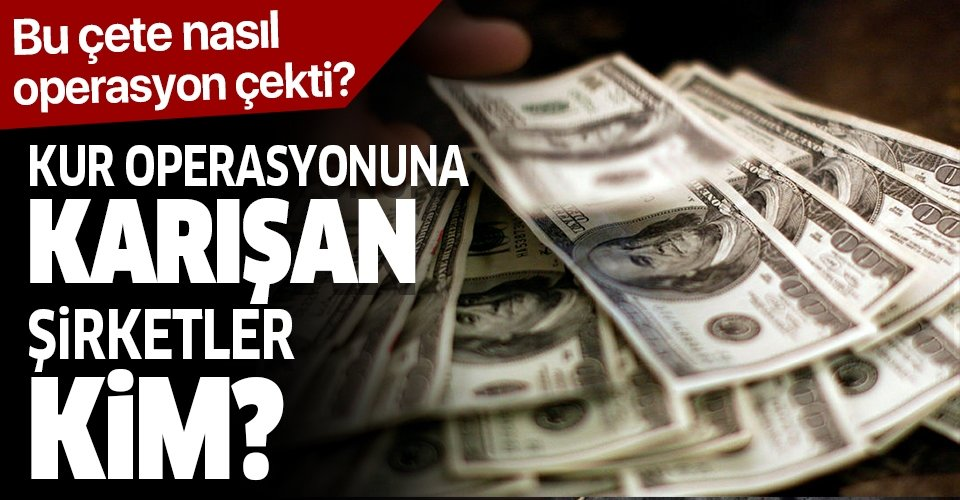 Sabah gazetesi yazarı Dilek Güngör: Kur operasyonu yapan şirketler kim?