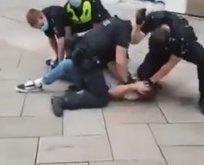 Almanya'daki polis şiddeti Floyd'a yapılandan farksız