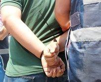 Çete lideri alem yaparken yakalandı