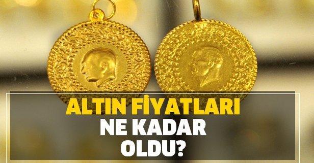 Altın fiyatları yükseldi! Çeyrek ve gram altın ne kadar?