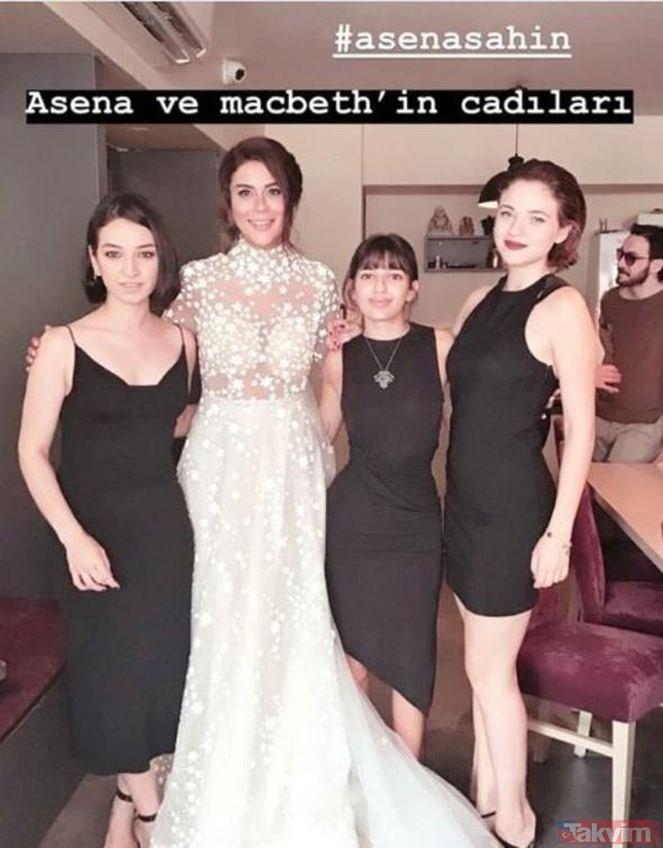 Asena Tuğal ve Şahin Irmak evlendi!