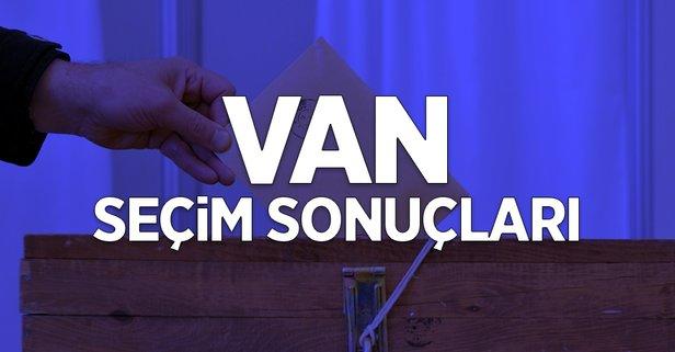 31 Mart Van yerel seçim sonuçları!