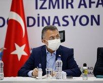 Fuat Oktay'dan İzmir depremi sonrası önemli açıklamalar