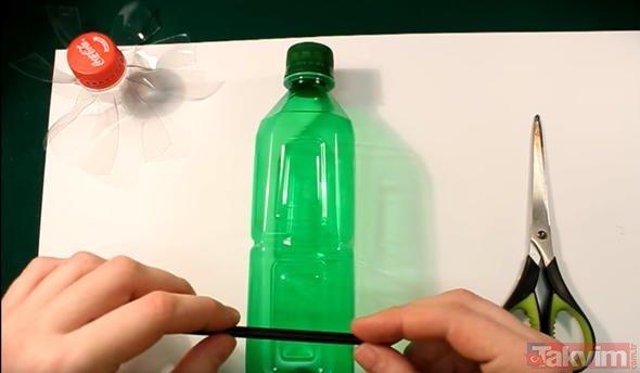Pet şişeden öyle bir şey yaptı ki! Sadece dakikalar içerisinde...