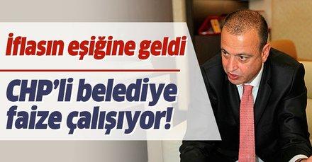 CHP'li Ataşehir Belediyesi iflasın eşiğine geldi! Battal İlgezdi 145 milyon lira kredi çekmiş