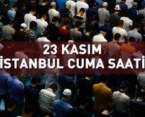 İstanbulda cuma namazı vakti saat kaçta?