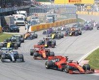 Formula 1'de de erteleme kararı