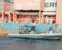 Türk gemisi serbest bırakıldı