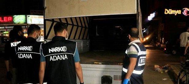 Adana'da bayram öncesi narkotik denetimi: 15 gözalt