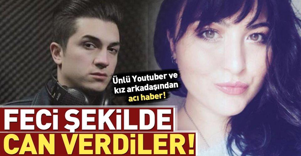 Ünlü Youtuber ve kız arkadaşı yanarak can verdi