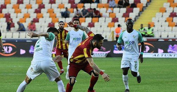 Bursaspor Lig'e veda etti!