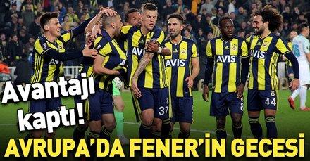 Avrupa'da Fener'in gecesi! (MS: Fenerbahçe 1-0 Zenit)