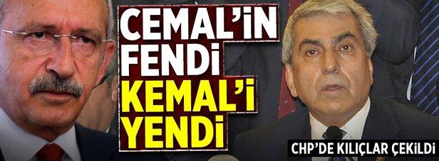 Cemal'in fendi Kemal'i yendi!