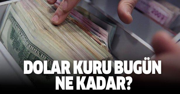 Dolar kuru bugün ne kadar? Dolarda son durum!