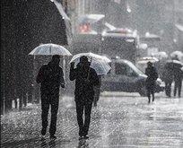 Meteoroloji'den İstanbul için sağanak yağış uyarısı | 4 Kasım son dakika hava durumu tahmini