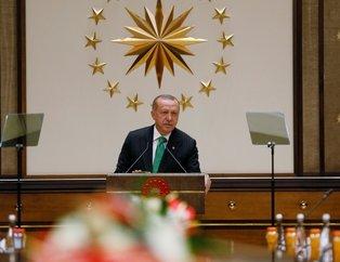 Son dakika... Cumhurbaşkanı Erdoğan ABDli şirketlerle bir araya geldi