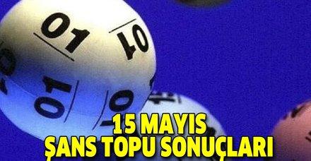 MPİ 15 Mayıs Şans Topu sonuçları! Şans Topu'nda kazanan numaralar açıklandı