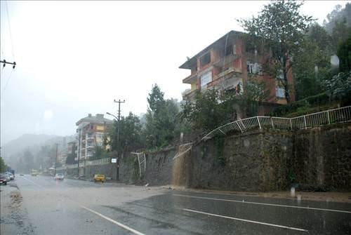 Rizede etkili yağış