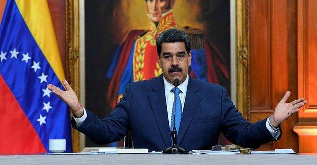 ABD'den Maduro hakkında skandal karar