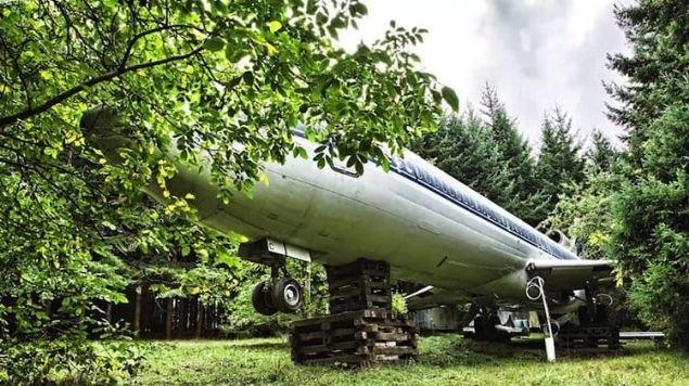O uçak böyle görüntülendi