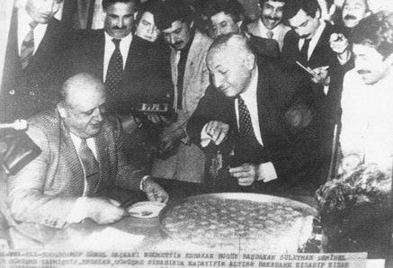 Vefatının 7. yılında Erbakan Hoca