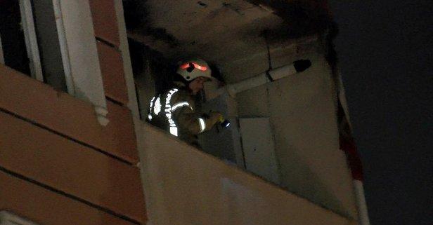Tuzla'da gece yarısı yangın paniği