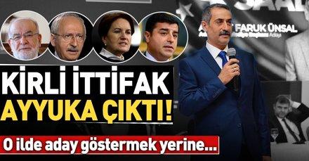 Kirli İttifak şimdi de Adıyaman için devrede! CHP ve HDP, Saadet'in adayını destekleyecek...