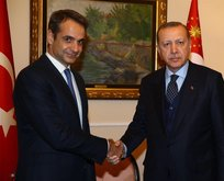 Başkan Erdoğan'dan Miçotakis'e tebrik telefonu