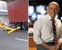 Brezilya'da ödüllü haber sunucusu helikopter kazasında öldü
