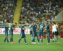 Maç bitti saha karıştı