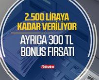 Başvuran hızlıca ATM'den 2.500 TL'ye kadar çekebiliyor!