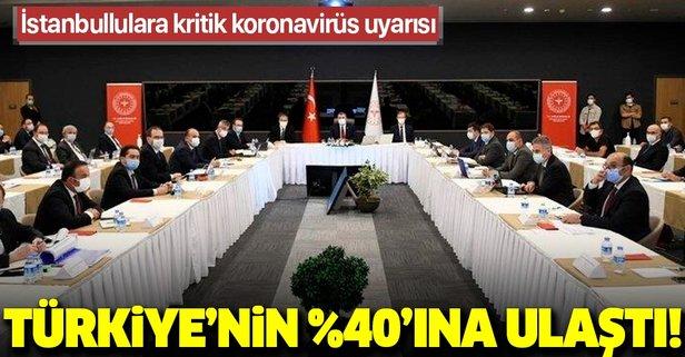 Bakan Koca İstanbul'daki son durumu açıkladı