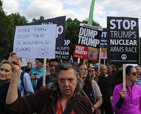 İngilizlerden Trump'a protesto