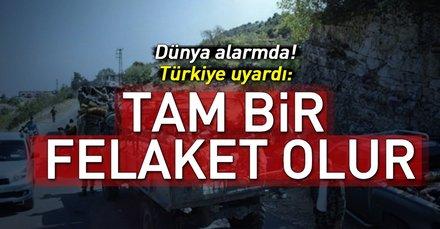 Dünya alarmda Türkiye uyardı! Savaşın ayak sesleri