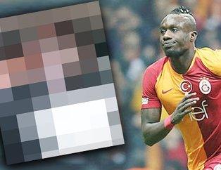 Galatasaraylı Diagne'nin sarı-kırmızılı paylaşımı sosyal medyayı salladı! Eşi de...
