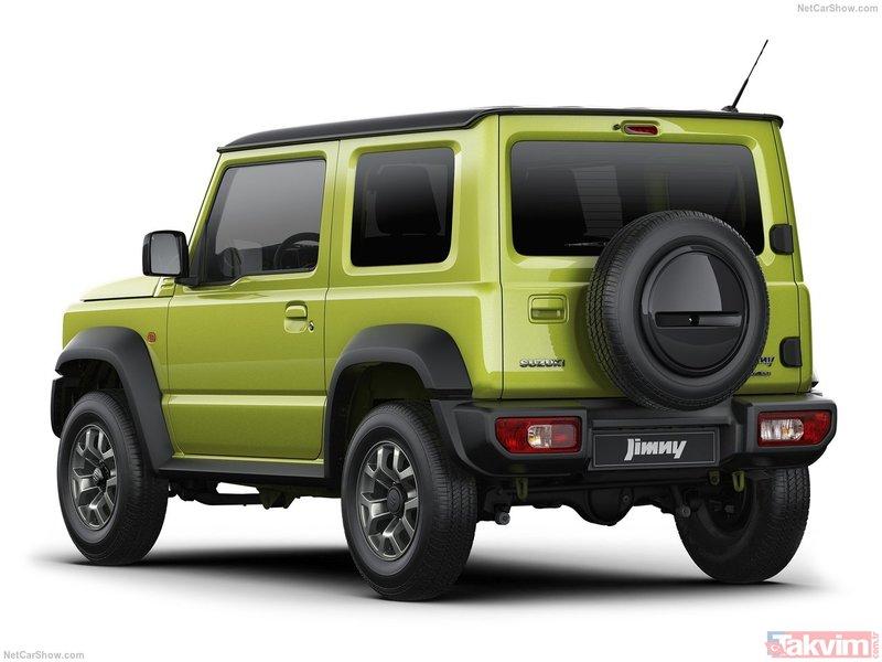 Yeni Suzuki Jimny Türkiye'ye ne zaman gelecek? 2019 Suzuki Jimny'nin motor ve donanım özellikleri neler?