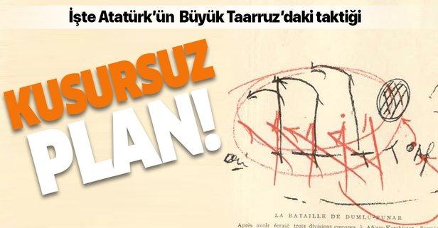 İşte Atatürk'ün Büyük Taarruz'daki kusursuz planı