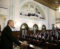 Başkan Erdoğan Birinci Meclis Binası'nda konuştu