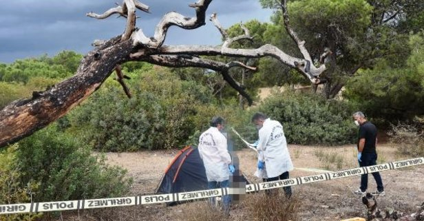 Antalya'da kan donduran intihar