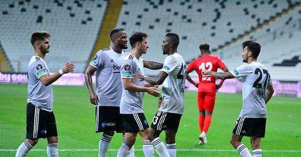 Beşiktaş'tan 3 gollü galibiyet!
