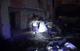 Metruk binada bebek cesedi bulundu