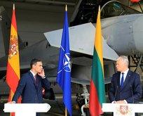 NATOtoplantısına Rus savaş uçakları girdi