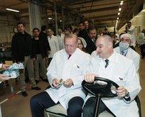Başkan Erdoğan'dan o fabrikaya ziyaret