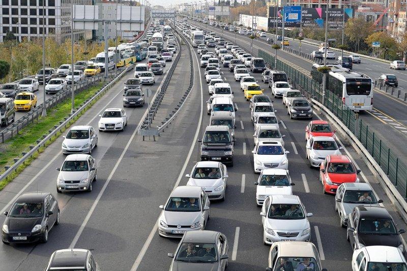 İstanbul'un trafik raporu açıklandı