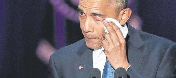 Obama'dan timsah taklidi