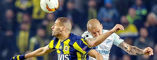 Kadıköy'de Fenerbahçe'nin gecesi | Fenerbahçe 1-0 Zenit