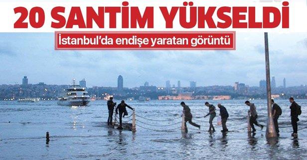 İstanbul'da deniz seviyesi 20 santimetre yükseldi! Dikkat çeken altyapı uyarısı - Takvim
