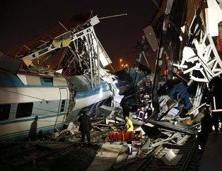 Son dakika: Ankara'da tren kazası! Yüksek Hızlı Tren ile banliyö treni çarpıştı